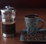 Kaffee zubereiten French Press